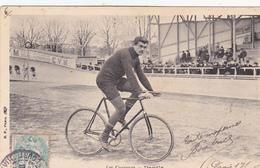 CPA Animée Sport Cyclisme Vélo Bicyclette Les Coureurs DANGLE Cycling Radsport (2 Scans) - Cyclisme