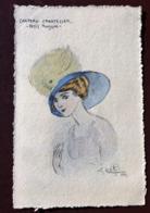 1 CP  Illustrateur Naillod. Chapeau Chapeau Chantecler - Petit Poussin - - Naillod
