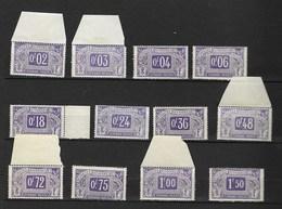 Timbres Fiscaux Fiscal Sociaux Postaux Sécurité Sociale Cote Neuf 177€ - Fiscaux