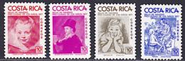 COSTA RICA, Peinture, Painting, RUBENS, GOYA .Yvert Nº 331/34 **MNH - Rubens