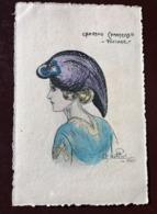 1 CP  Illustrateur Naillod. Chapeau  Chantecler - PINTADE - Naillod