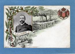Monaco . SAS Albert 1er , Océanographie   Cpa Couleurs . Pli Bas Droit . Blason : Déo Juvante . Cliché : Numa Blanc - Museo Oceanografico