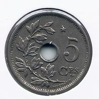 ALBERT I * 5 Cent 1932 Frans * Met STER Op 1 Punt Hellend Naar Rechts * Nr 5094 - 03. 5 Céntimos