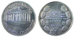00092 GETTONE TOKEN JETON FICHA COMMEMORATIVE LYNCHBURG VIRGINIA BICENTEBNNIAL CELEBRATION 1786-1986 - Unclassified