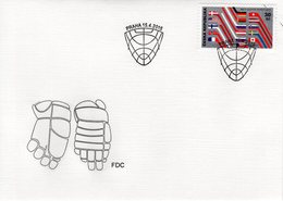 CZECH REPUBLIC  -  2015 Ice Hockey - IIHF World Championship   FDC6175 - FDC