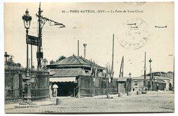 PARIS - 16° - AUTEUIL - La Porte De Saint-Cloud  - Voir Scan - Arrondissement: 16
