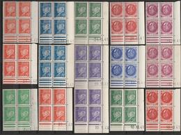 LOT De 56 CD - Série Complète PÉTAIN 505 à 525 - 1940-1949