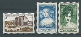 FRANCE 1950 . N°s 873 , 874 Et 875 . Neufs **  (MNH) - France