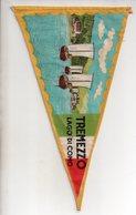 REF ENV : Fanion Flag Pennant Stendardo Touristique Ancien : TREMEZZO Lago Di Como - Obj. 'Souvenir De'