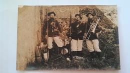 Carte Photo 24e BCA, Classe 1902 - Régiments
