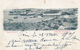 Perim Island Perim Town And Harbour P. Used  Aden 1905 - Yémen