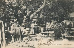 Gambia Bathurst The Market Cliché CFAO - Gambia