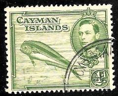 Cayman Scott 101 Used VF  CV .75 - Cayman Islands