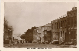 St Helena Main Street Jamestown  Crease At The Top. P. Used 1941 - Sainte-Hélène
