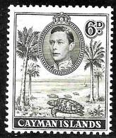 Cayman Scott 107 Mint Hinged Used VG  CV 2.50 - Cayman Islands