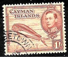 Cayman Scott 108 Used VF  CV 2.00 - Cayman Islands