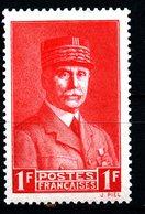 FRANCE 1940-41: 1F Pétain N° 472** - 1941-42 Pétain