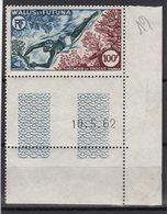 Wallis Et Futuna - PA N°19 - ** Neuf Sans Charniere - Pecheur De Trocas - Coin Daté 10-5-1962 - Cote +23.50€ - Neufs