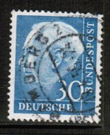 GERMANY  Scott # 712 USED FAULTS (Stamp Scan # 460) - [7] Federal Republic