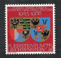 W-12987 Liechtenstein 1968 Mi.#496**mnh Offers Welcome! - Liechtenstein