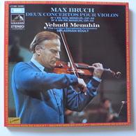 LP/ Yehudi Menuhin, Adrian Boult - Max Bruch - Deux Concertos Pour Violon - Classique