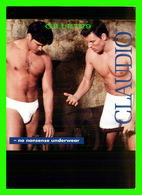 ADVERTISING - PUBLICITÉ - CLAUDIO, NO NONSENSE UNDERWEAR - GO-CARD, 1994 No 1033 - - Publicité