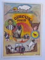 Katzen, Hund Schwein, Ziege, Cirkus Maus, 1980, Geri Kuster  ♥ (72679) - Chats