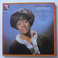 LP/ Jessye Norman, Irwin Gage - Wagner - Wesendonk Lieder & Cinq Mélodies De Schubert & De Poulenc - Classique