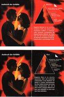 CARTE PARFUMEE MAN / WOMAN - MAURER + WIRTZ - D'AVANT 1998 - DOUBLE FEUILLET - FILM - DE GERMANY - EXCELLENT ETAT - Cartes Parfumées
