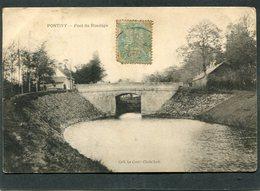 CPA - PONTIVY - Pont Du Rondage - Pontivy