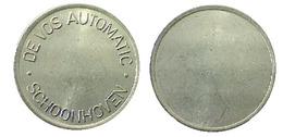 04113 GETTONE TOKEN JETON FICHA THE NETHERLANDS DISPENSER MACHINE DRINK FOOD DE VOS AUTOMATIC SCHOONHOVEN - Unclassified