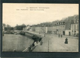 CPA - PONTIVY - Quai Des Couvents, Animé - Pontivy