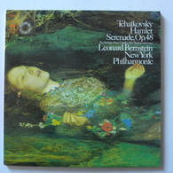 LP/ Leonard Bernstein - Tchaikowsky - Hamlet. Serenade, Op.48 - Classique