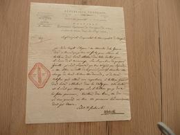 LAS Autographe Walwille Belgique Révolution 30 Prairial An 4 Cachets Pays Conquis Militaria - Autógrafos