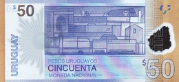 Uruguay P..new 50 Pesos 2017 Unc - Uruguay