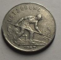 1957 - Luxembourg - 1 FRANC, Charlotte, KM 46.2 - Luxemburg