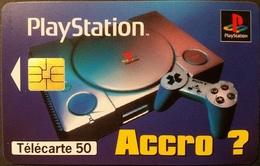 Telefonkarte Frankreich - Werbung - Play Station - 11/96 - 50 Units - 1996