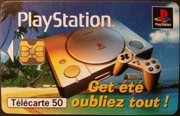 Telefonkarte Frankreich - Werbung - Play Station - 07/97 - 50 Units - Frankreich