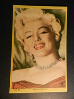 19889) MARILYN MONROE FIGURINA? N° 81 8,5 X 13 Cm - Donne Celebri