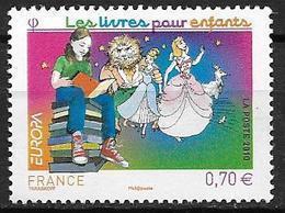 France 2010 N° 4445 Neuf Europa Livres Pour Enfants, à La Faciale - Neufs