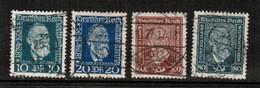 GERMANY  Scott # 340-3 VF USED (Stamp Scan # 460) - Germany