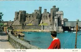 CP - Conway Castle -  Non Ecrite - Wales - Pays De Galles