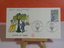Journée Du Timbre 1978 - Paris - 8.4.1978 FDC 1er Jour N°1071- Coté 3€ - FDC