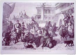 ITALIE-VENISE-REDDITION-FREDERIC PECHT-1766-1868 - Prints & Engravings