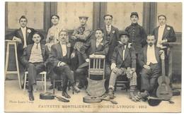 Montélimar Fauvette Montilienne Société Lyrique 1912 Photo Louis Lang - Montelimar