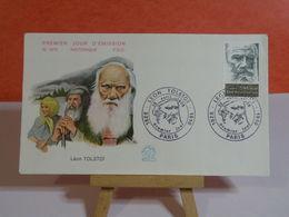 Léon Tolstoï - Paris - 15.4.1978 FDC 1er Jour N°1072 - Coté 2€ - FDC
