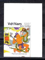 Vietnam  - 1990. Bimbo Uccide Il Serpente. MNH, Imperf. Rare - Fiabe, Racconti Popolari & Leggende