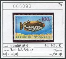 Indonesien - Indonesia - Michel 724 - Oo Oblit. Used Gebruikt - Fische - Fishes - Indonesia