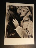 19889) MARILYN MONROE CARTOLINA GRANDE PUBBLICITARIA FILM NIAGARA - Donne Celebri