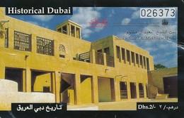 VAE Dubai 2011 Eintrittskarte Historical Dubai - United Arab Emirates